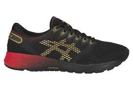 Asics roadhawk FF rouge et or